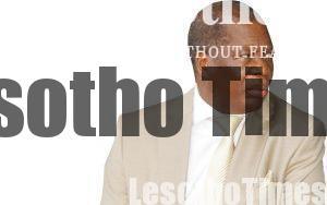 Justice Ramodibedi with Tseliso Monaphathi