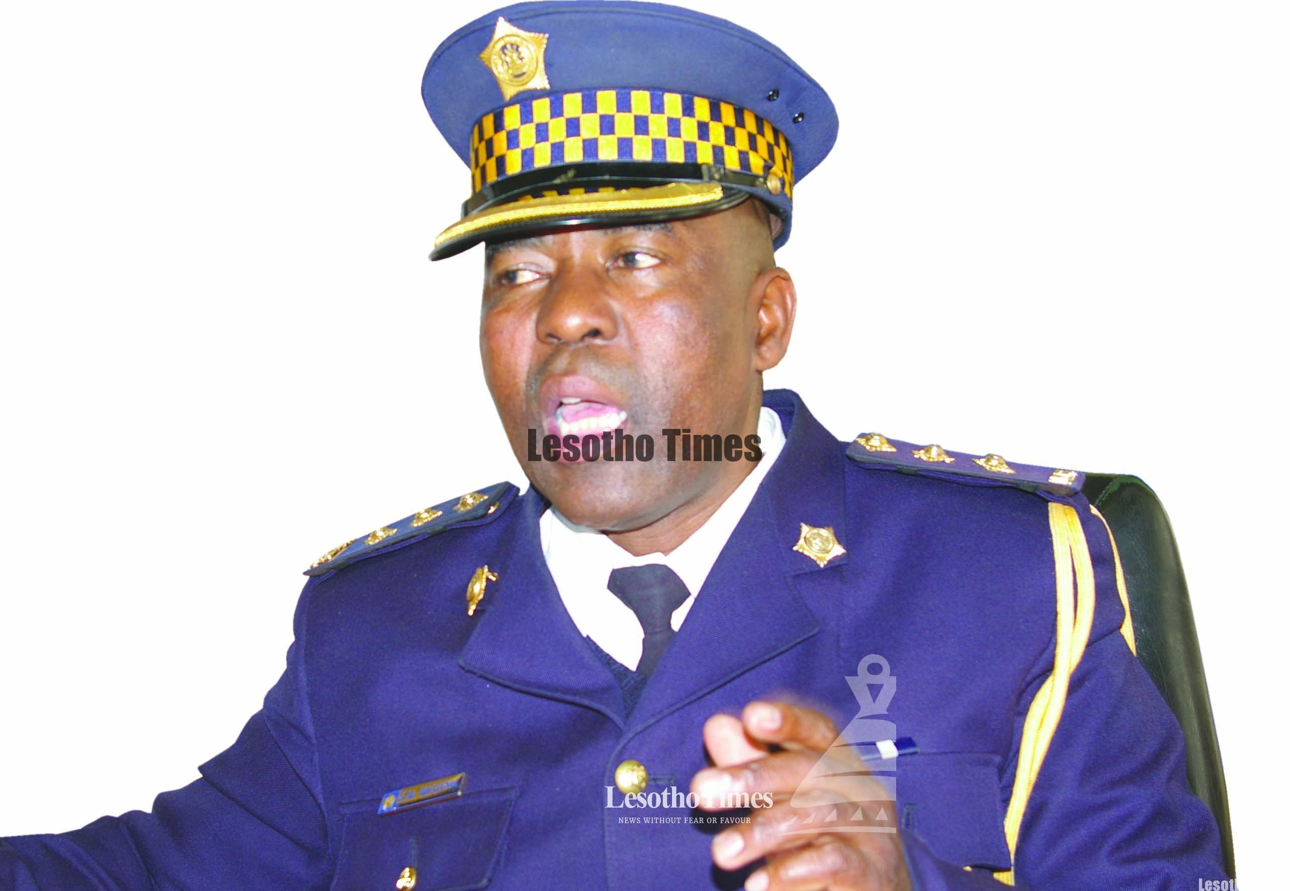 OFFICER Commanding Police Anti-Stock Theft Unit, Assistant Commissioner Masupha Masupha