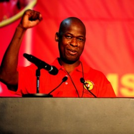 Numsa acting president Andrew Chirwa. Picture: Muntu Vilakazi/City Press