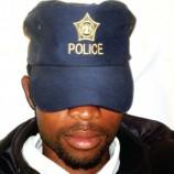 Police cap stolen for bizarre ritual