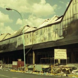 THE aftermath of the 1998 riots. In some cases, the cost of collection far exceeded the debts being collected.