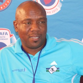 Under 20 Coach Moses Maliehe