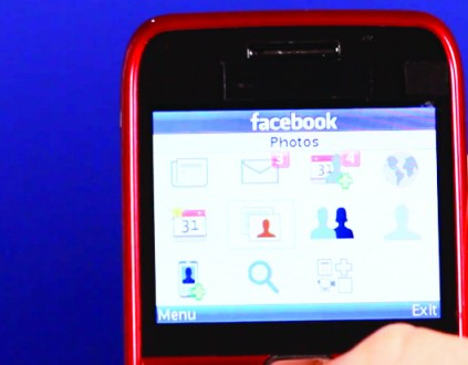 MOST people in Africa use Facebook on 'feature phones' — cheaper devices with small screens.