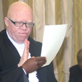 King's Counsel (KC) Kananelo Mosito on Tuesday this week took oaths of office and allegiance to King Letsie III as the new President of the Court of Appeal (1)