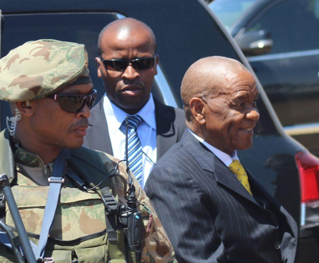 Fomer PM Thom Thabane & Thesele Maseribane