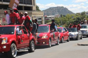 Lesotho Congress of Democracy and Democratic Congress supporters