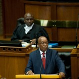 No laughing matter: Zuma fights back in Parliament