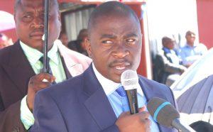 Minister of Energy Selibe Mochoboroane