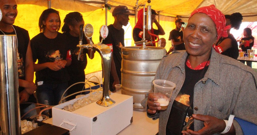 REVELLERS sampling some of the exotic beers during the Africa Beer Festival held at Durham Link on Saturday