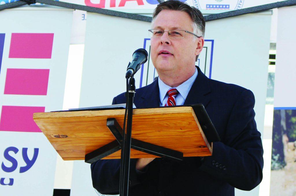 UNITED States Ambassador to Lesotho, Matthew Harrington