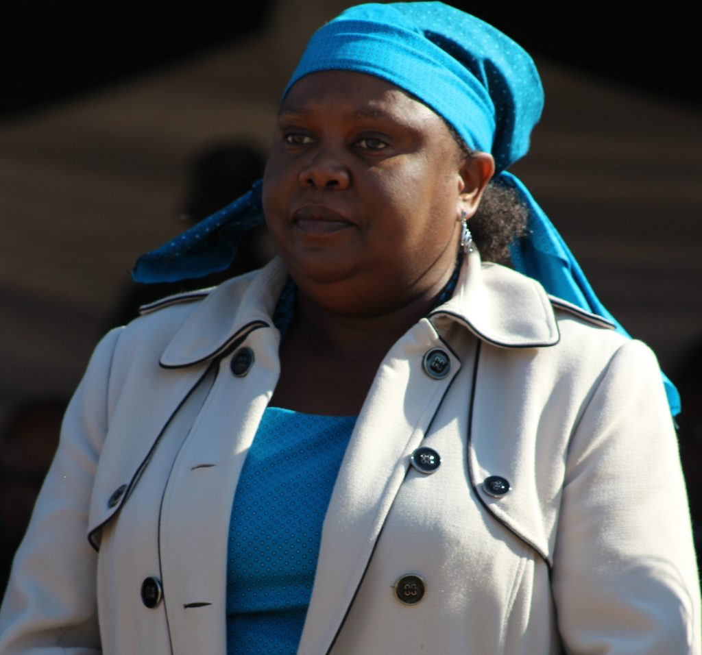 Outgoing Ministry of Public Service Principal Secretary 'Machabana Lemphane – Letsie,