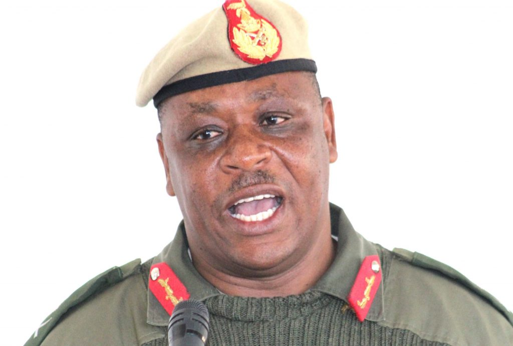 LDF Chief of Staff, Major General Lineo Poopa