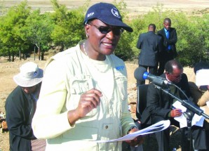 WFP Lesotho Country Director Mary Njoroge reaffirms World Food Programme's support