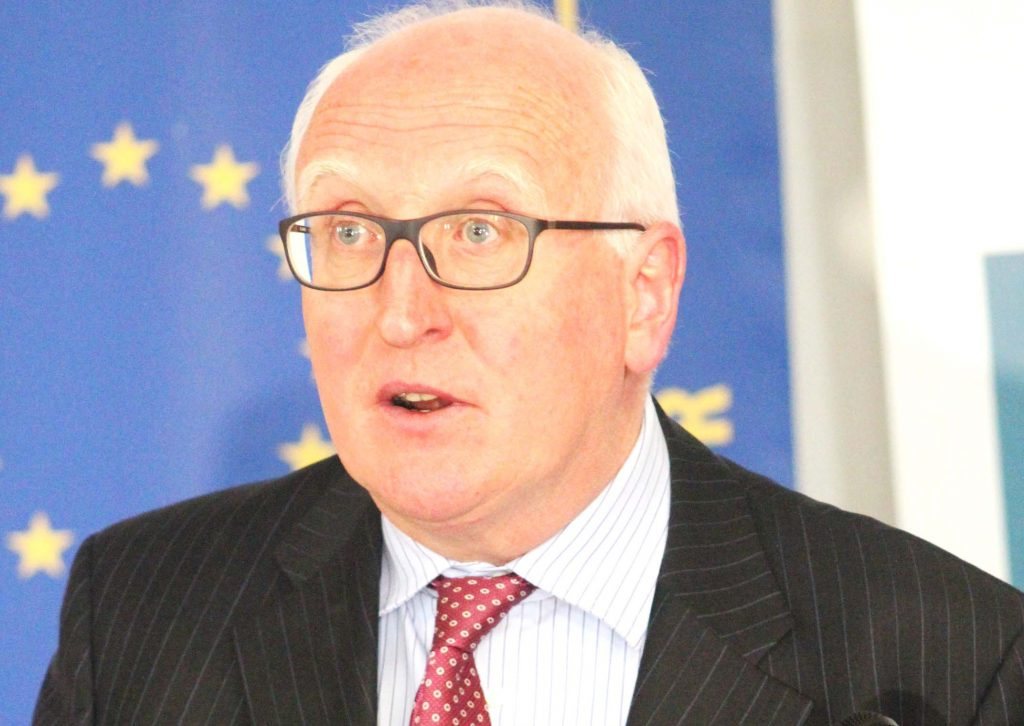 European Union Ambassador Michael Doyle
