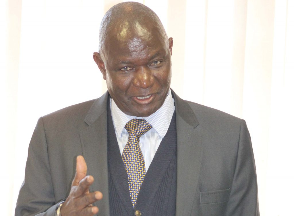 Justice Mphaphi Phumaphi, Chairman of SADC Juidicial Commission of Inquiry to Lesotho