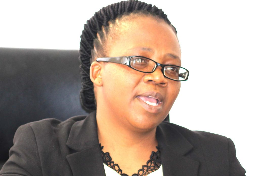 Master of the High Court Advocate Veronica Matiea
