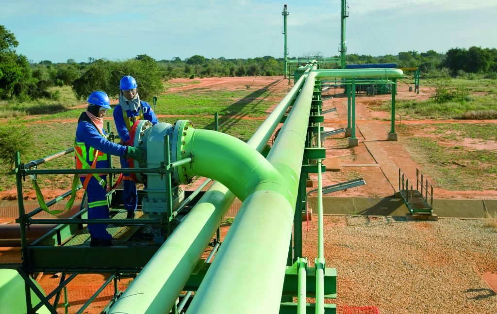 Mozambique's economy is being boosted by the biggest natural gas find in the world in the last decade.