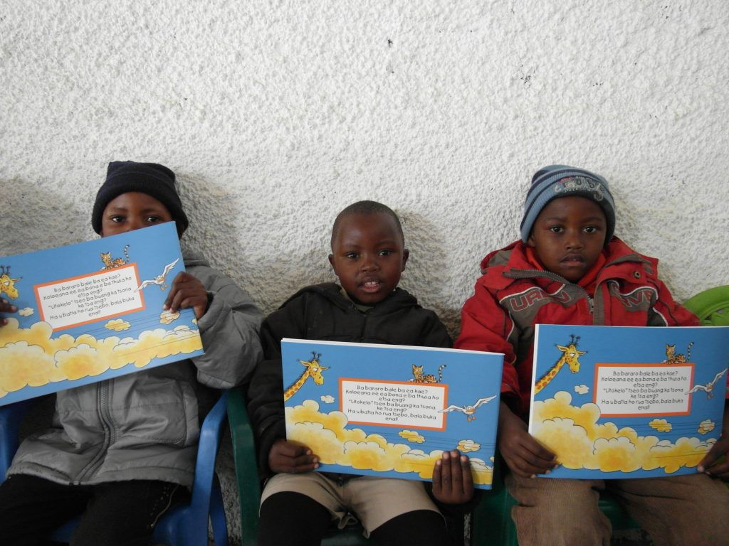 CHILDREN in Ha-Teko village make use of the facilities at the community learning centre.