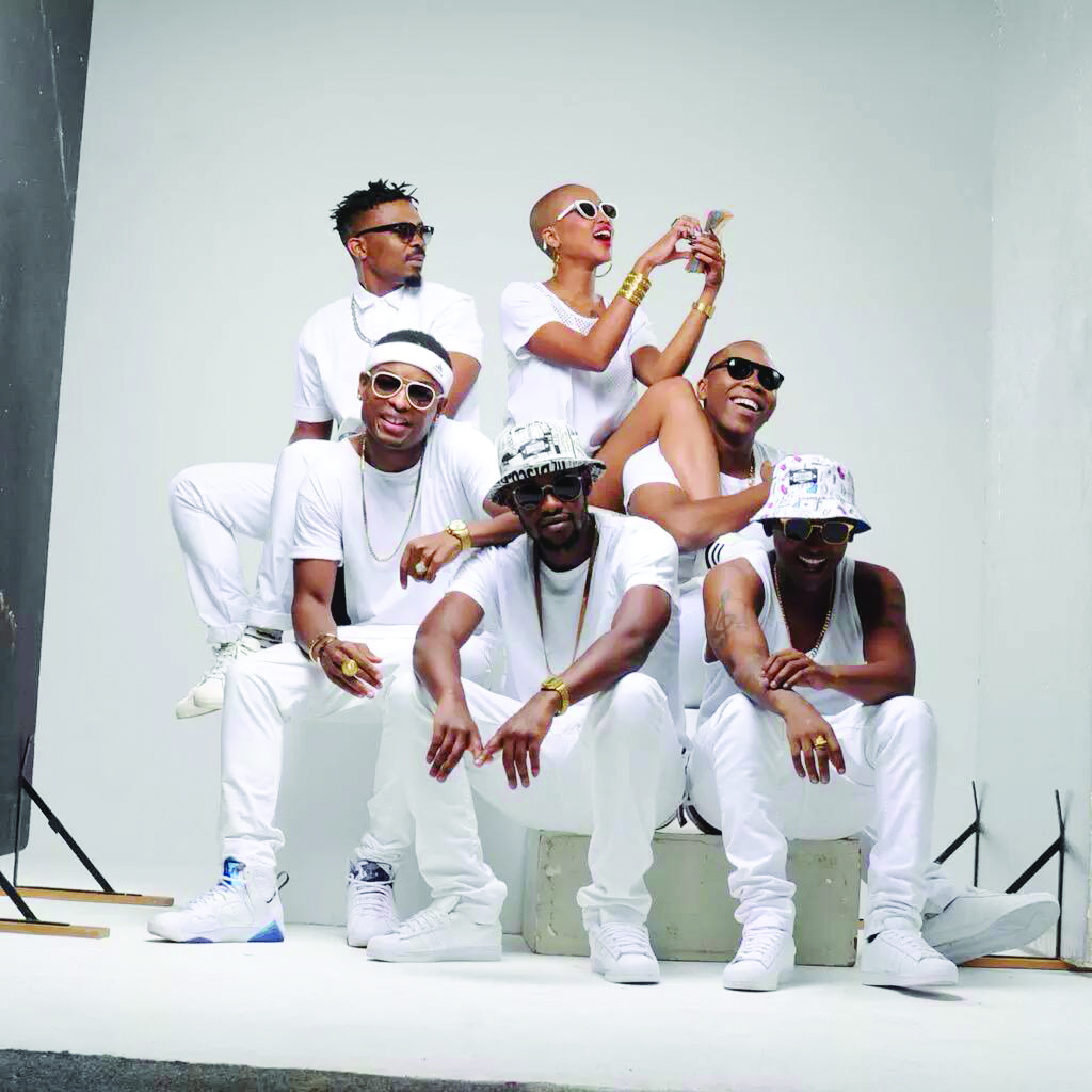 MEMBERS of the Cashtime Family