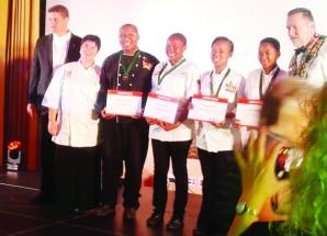 Chef school wins continental awards
