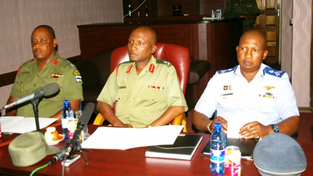 Mutiny suspects reject Court Martial judges
