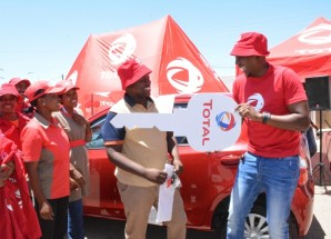 Total Lesotho awards car to lucky winner