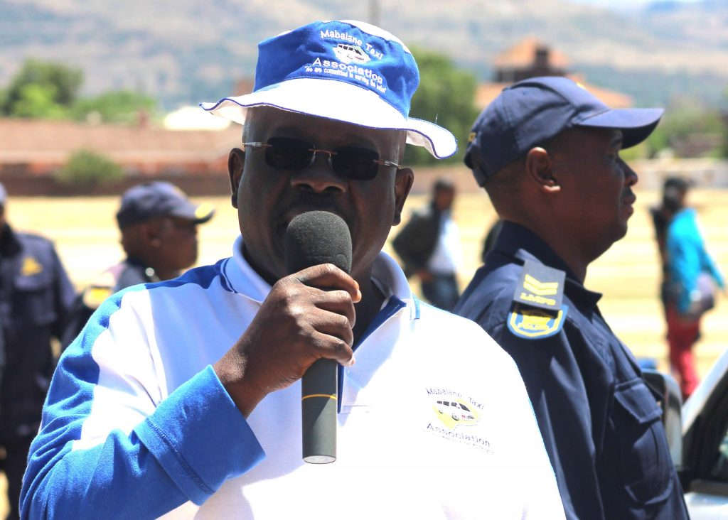 Taxi Operators Acting Chairperson Mathe Khalane