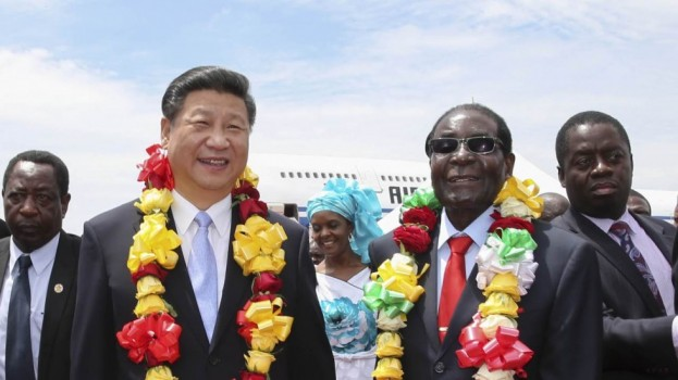 China's Xi signs 10 investment deals with Mugabe