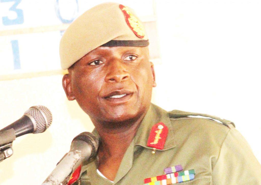 Lesotho Defence Force Commander, Lieutenant General Tlali Kamoli  (2)
