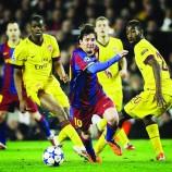 Barca predict thriller against Arsenal