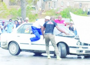 Car spinners' battle for worthy cause