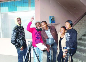 Film students plot short musical project