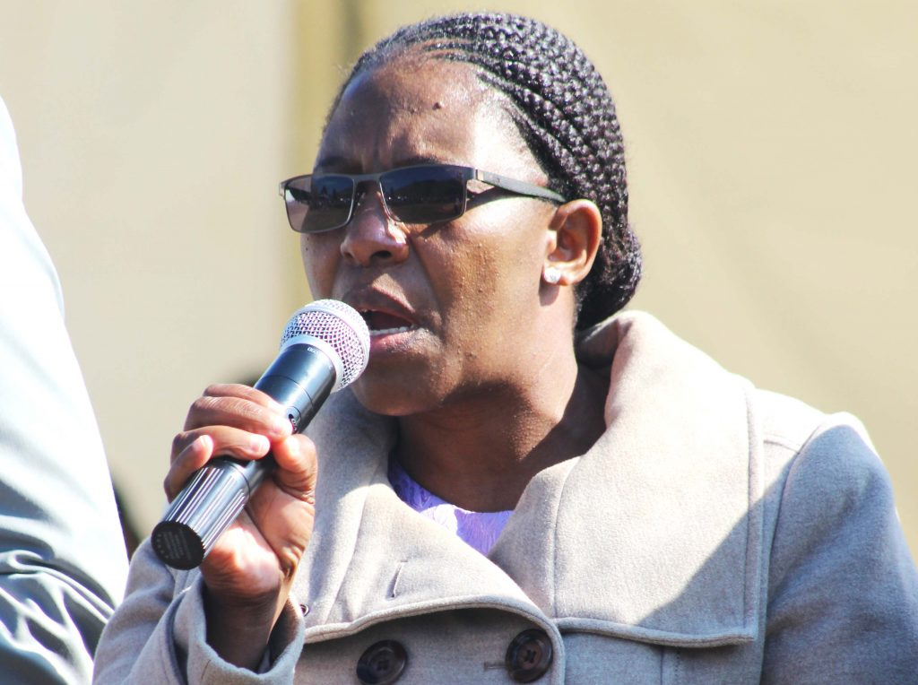 Deputy Minister of Gender and Youth, Sports and Recreation 'Marefuoe Muso
