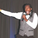 Comic makes splash at African comedy gig