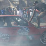 Car spinners enthrall fans for worthy cause
