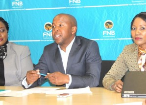 FNB showcases cellphone banking facility