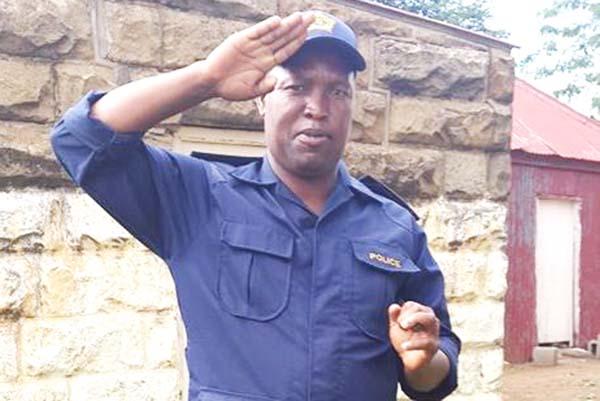 Senior Superintendent Khoabane Mpepe
