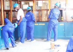 Letshego face-lifts police station