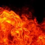 Man burns to death