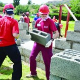 Habitat comes to needy family's aid
