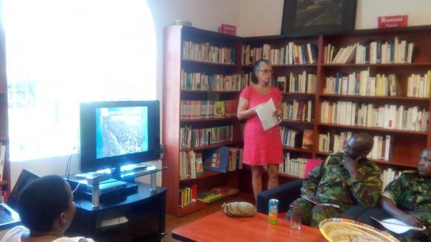 War novel launched in Maseru