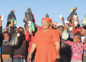 Fleet firm puts smiles on villagers' faces