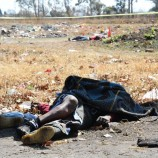 Illegal miners' bodies brought home