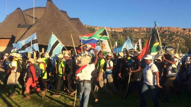 Moshoeshoe Walk ends on a high