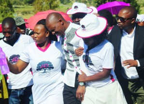 Litjobo breaks down at Moqolo funeral