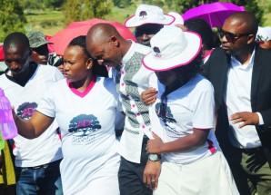 Litjobo breaks down at Moqolo funeral