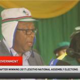 Press Conference of Leaders of the four-party new Lesotho government (3)