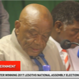 Press Conference of Leaders of the four-party new Lesotho government (2)