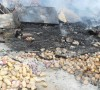 Fire destroys livelihoods at Sefika