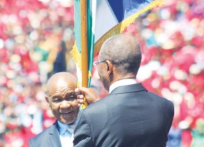 Inauguration of The Right Honourable Prime Minister of Lesotho Dr. Motsoahae Thomas Thabane